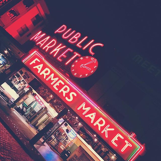 📍Seattle, Washington - An Empty Pike Place Market On An Early Morning Walk Around Downtown Seattle
