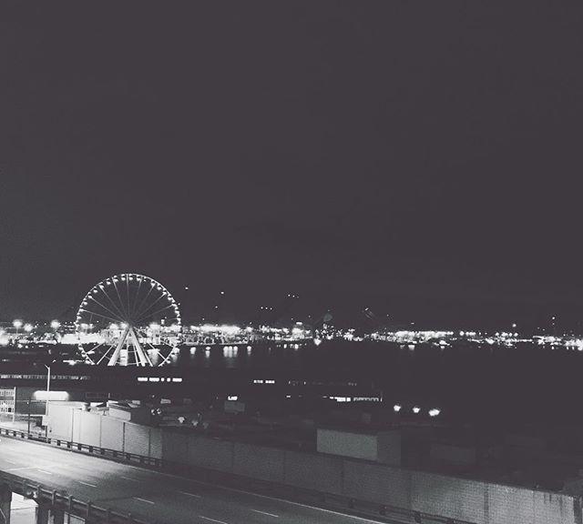 📍Seattle, Washington - Took This Pier Skyline Shot In My First Night Exploring Around Downtown Seat
