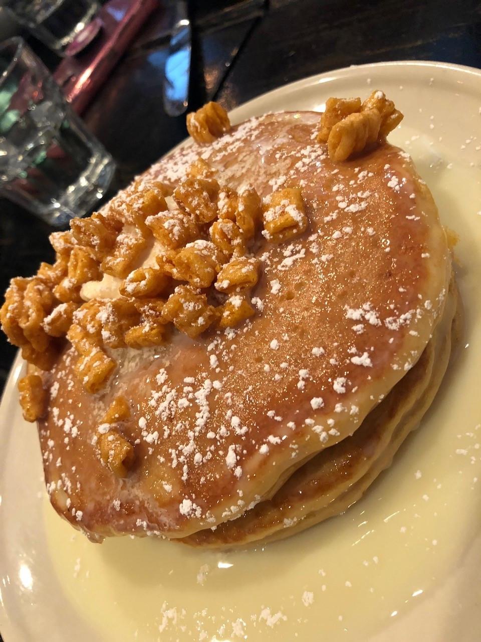 Cap'n Crunch Pancakes