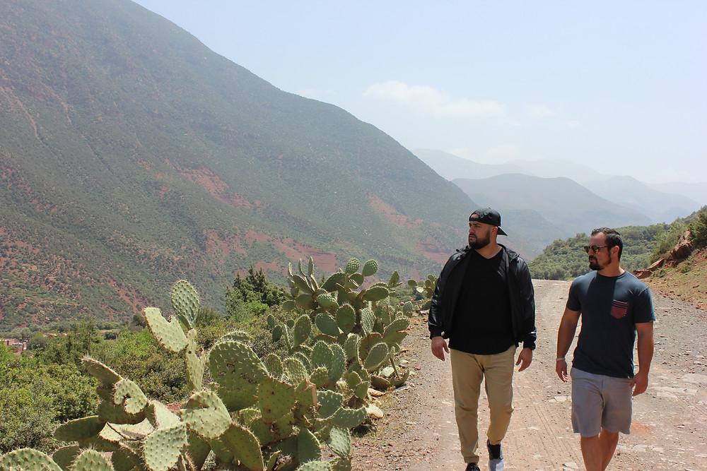 Mini hike through the Atlas Mountains