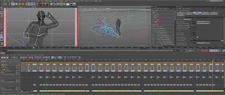 Cinema 4D Animation Screen 02