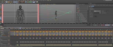 Cinema 4D Animation Screen 01