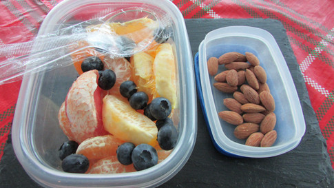 Fruit Medley & Raw Almonds