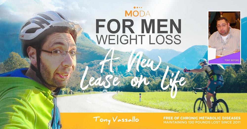 MODA For Men Weight Loss By Tony Vassallo