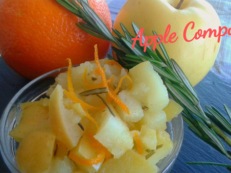 Savoury Apple Compote