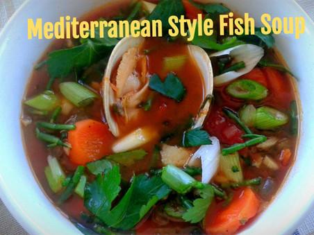 Mediterranean Style Fish Soup