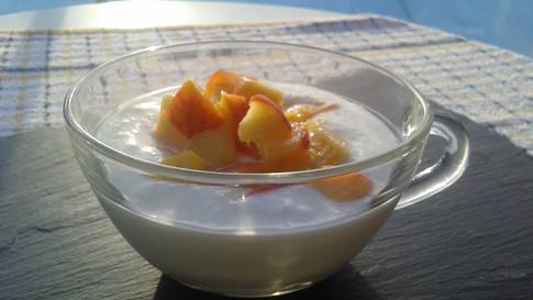 Kefir & Peaches