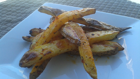 Over Roasted French Fries