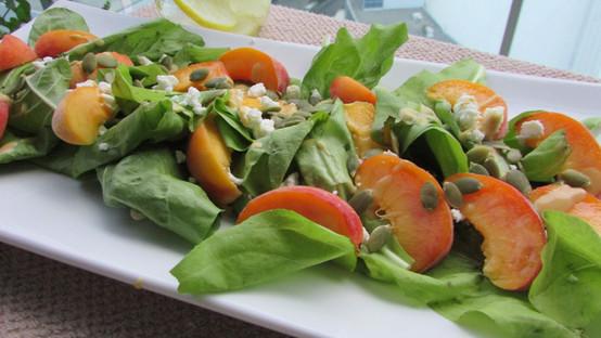 Peaches & Greens