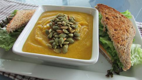 Caribbean Curried Pumpkin Soup