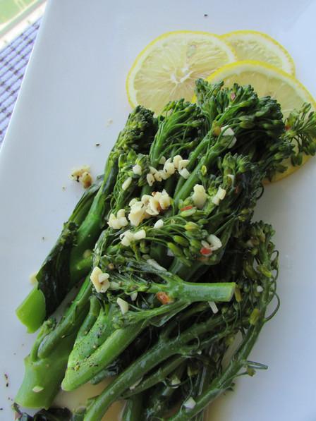 Water Sauté Broccolini