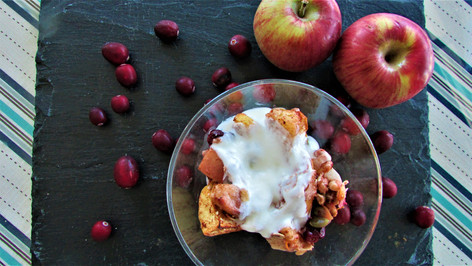 Roasted Apple Crumble
