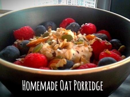 Homemade Oat Porridge