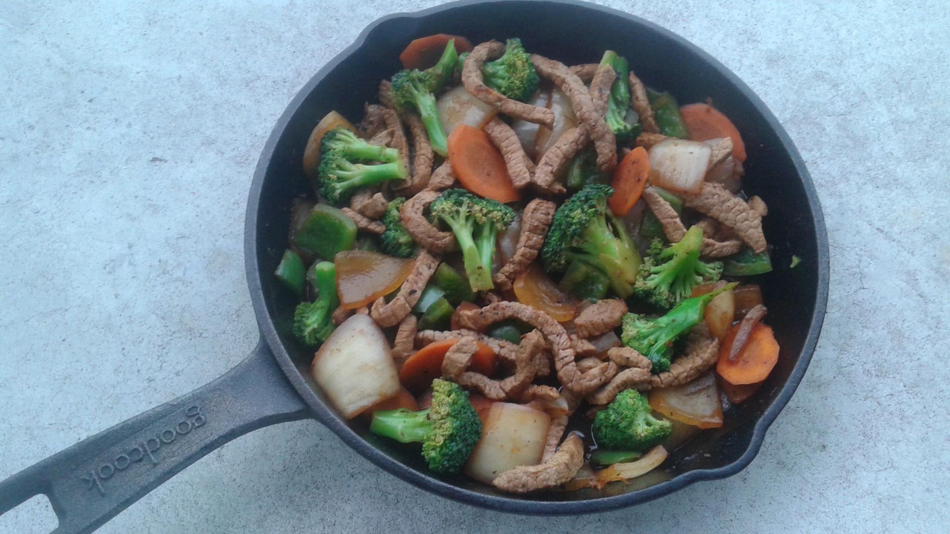 Beef & Brocoli Stir Fry