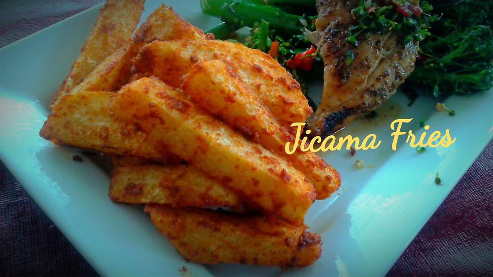 Best Baked Jicama Fries