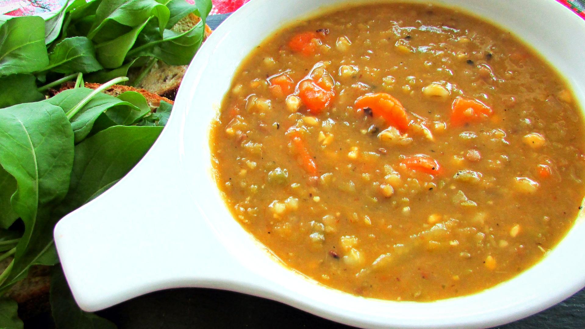 Spilt Pea Soup & Toast