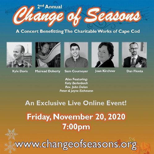 Change of Seasons - Live in 2020 | Concert Album
