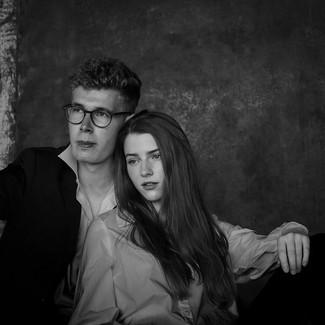 Ilka und Freund, Norderney, 2020