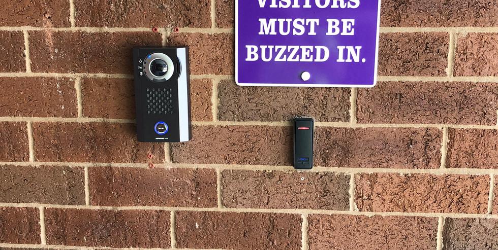 Aiphone Intercom w/Keyscan