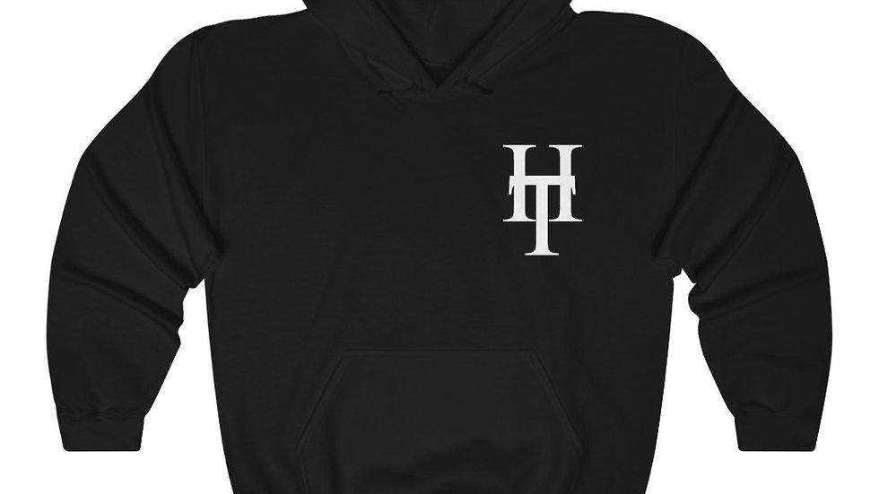 HeadTurners Black Unisex Heavy Blend™ Hooded Sweatshirt