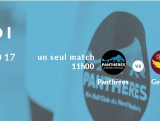 Dernier match de la saison pour les Panthères