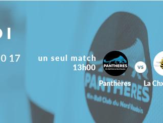 Les matchs s'enchaînent pour les Panthères