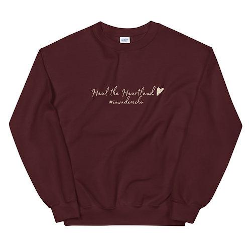 HTH #IowaDerecho Unisex Sweatshirt