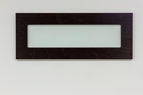 Glass Door - Wood