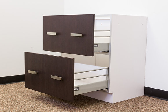 2 Drawer Base Unit