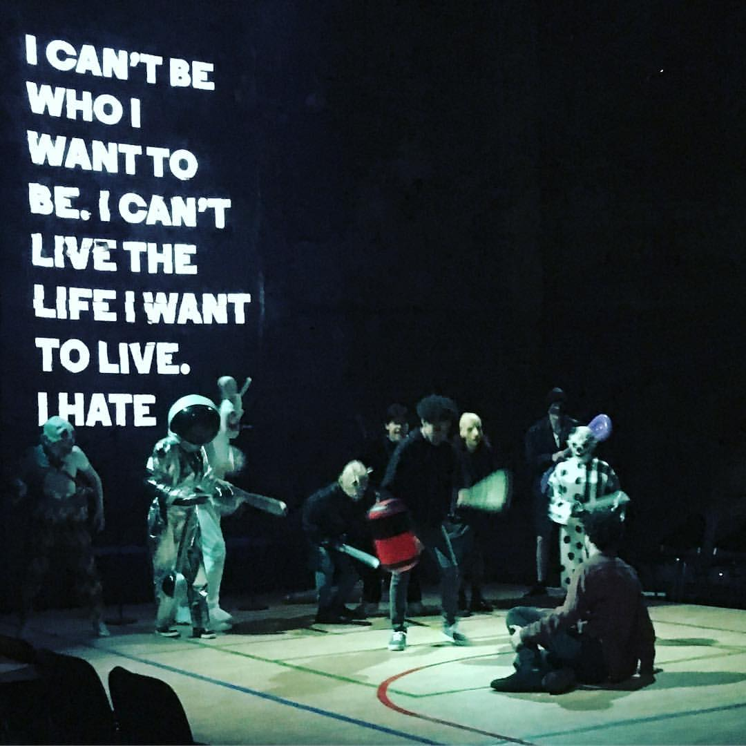 Loki and Cassie - Almeida Theatre