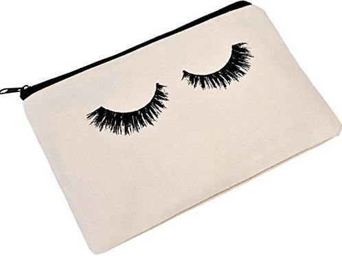 Zipped Makeup Bag