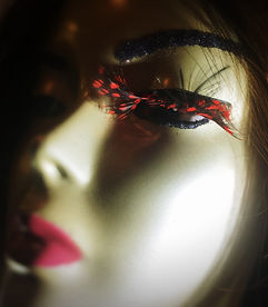 Party Feather Eyelashes