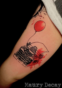 Custom typewriter