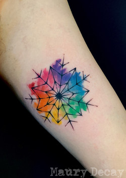 7 pointed snowflake
