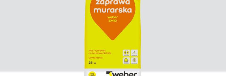 Zaprawa murarska ZM 10 Weber