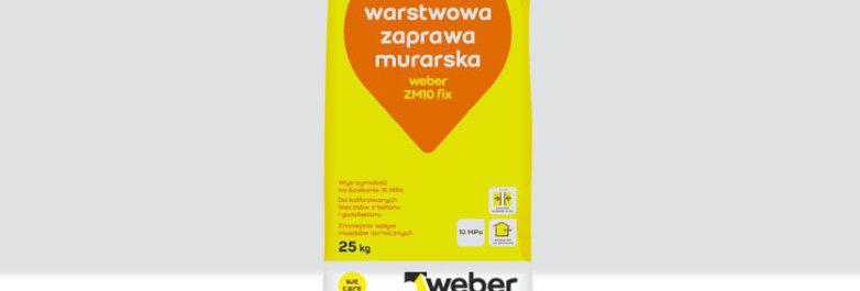 Zaprawa murarska ZM 10FIX Weber