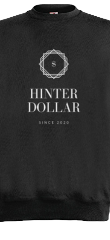 HINTERDOLLAR SWEAT BLACK