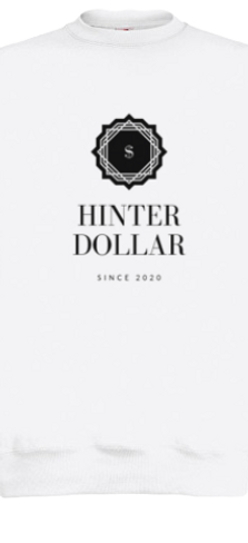 HINTERDOLLAR SWEAT WHITE