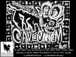 Cave Canem logo by Brian Finn