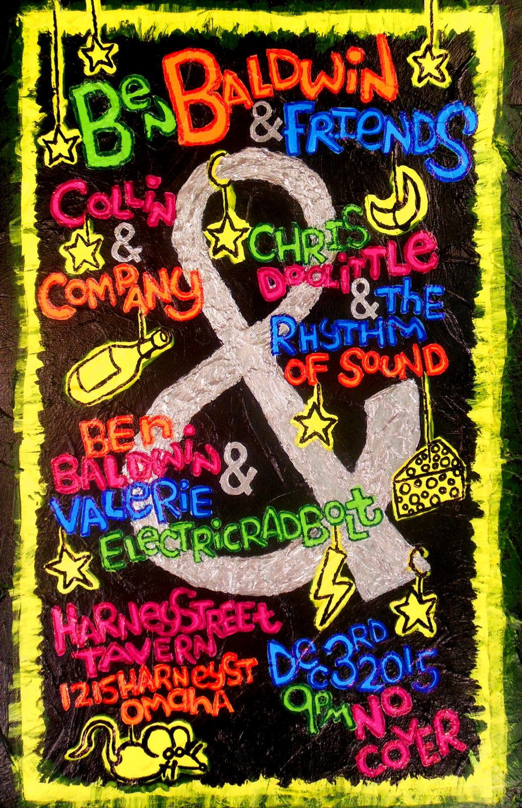 poster for Ben Baldwin & Friends