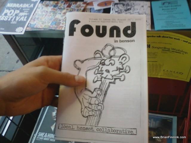 Brian Finn cover Found in Benson 33