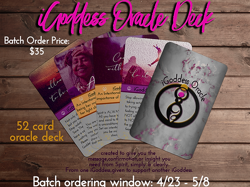 iGoddess Oracle Cards