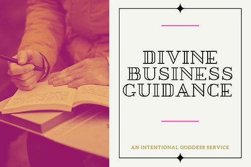 Divine Business Guidance