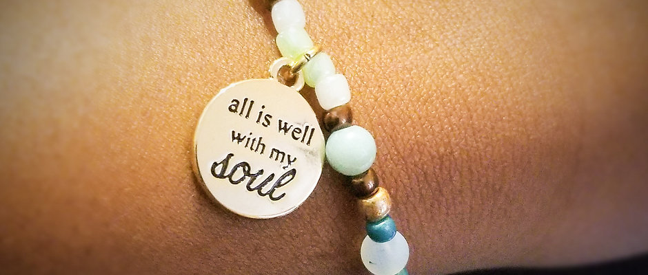 All is well with my soul bracelet