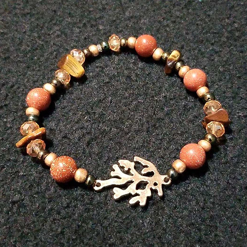 Nature's strength and balance - bracelet