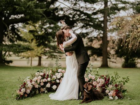 Flipping wedding traditions the bird