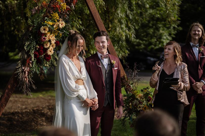 Marriage Celebrant and Master of Ceremonies