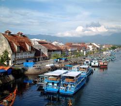 Colonial port of Padang