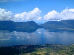 Lake Maninjau from Puncak Lawang (1,