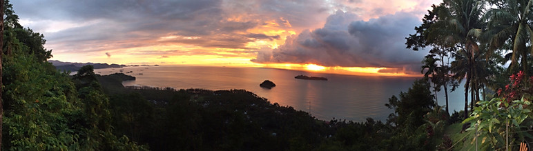 Sunset Storm Panodrama!